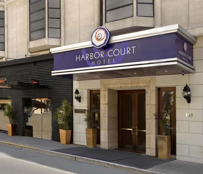 Harbour Court Hotel in San Francisco