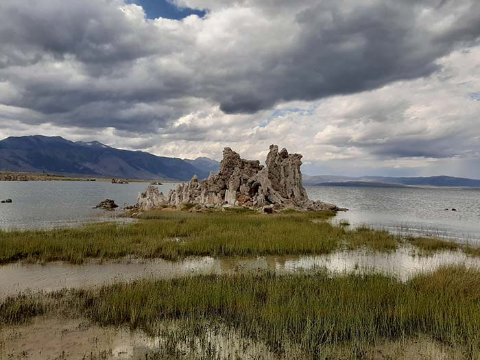 Tufa's in Mono Lake