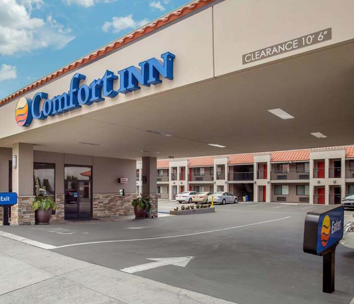 Confort Inn Near Old Town Pasadena in Los Angeles