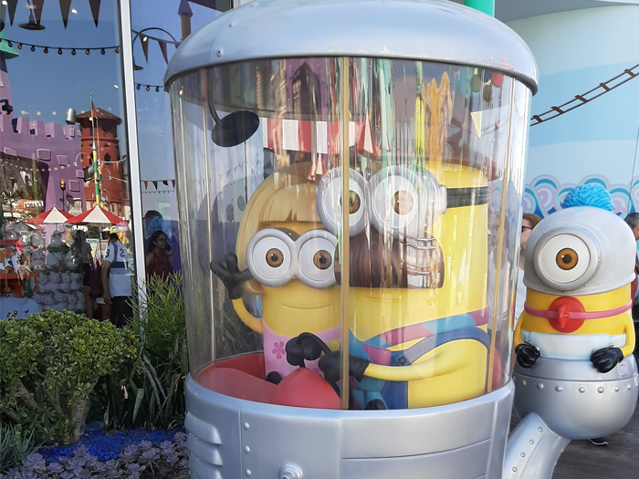 Universal Studios Hollywood - Dispicable Me Minion mayhem