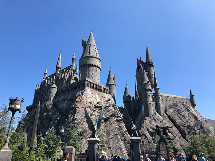 Universal Studios Hollywood - Harry Potter and the forbidden journey