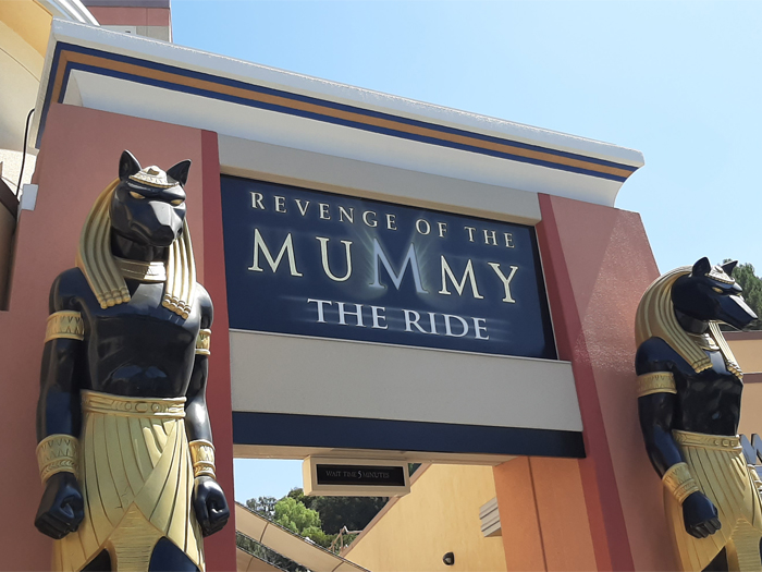 Universal Studios Hollywood - The Mummy the ride